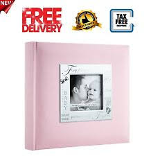 Pioneer 200 Pocket Fabric Frame Cover Photo Album Photo Album Books Wedding Baby And Kids Ebay