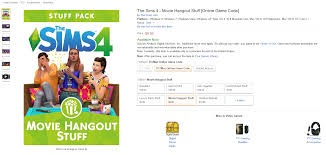 the sims 4 movie hangout stuff archives