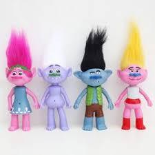 26cm trolls dreamworks movie poppy branch dolls action figures