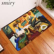 teppich k che smiry eingangstür matten rutschfeste schöne vintage katze