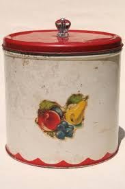 tin kitchen canisters metal bread box tin kitchen canisters retro fixer uppers to