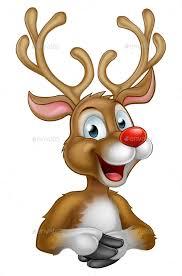 christmas deer christmas reindeer by krisdog graphicriver
