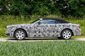 green rolls royce 2016 rolls royce dawn spied autoevolution