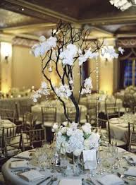 Tree Centerpiece Wedding by Yellow Large Manzanita Tree Centerpiece Large Centerpieces