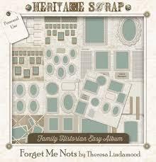 52 best family tree u0026 heritage scrapbooking templates u0026 projects