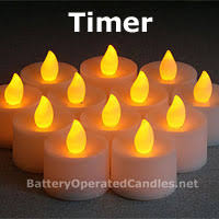 led tea lights with timer battery operated candles timer tea lights