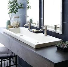 bathrooms design vessel sink with faucet kohler sinks glass vox