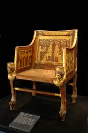 Egyptian Chair King Tut Exhibit Nyc New York Discovery Times Square