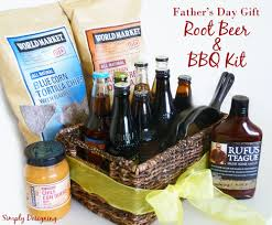 fathers day gift basket s day rootbeer and bbq kit worldmarket ad
