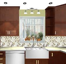 Kitchen Sink Lighting by Laminate Kitchen Cabinets Farmhouse Kitchen Rustic Wall Sconce Sink