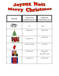 french christmas worksheet u2013 festival collections