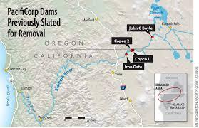Klamath Falls Oregon Map by Feds Announce New Klamath Accord To Remove Dams By 2020 News Blog