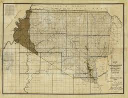 Map Of Ms Rare Map Of The Chickasaw Cession Rare U0026 Antique Maps