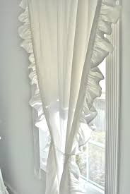 Ruffled Curtains Nursery by Ruffled Curtains And Drapes Decorate The House With Beautiful