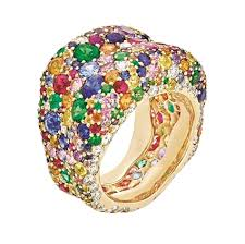 coloured gemstone rings images Gemstone rings emotions collection faberg com jpeg