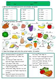 226 free esl countable and uncountable nouns worksheets
