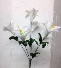 Wholesale Flowers Near Me New Lily Bush K962 6w Ksw Wholesale Silk Flowers