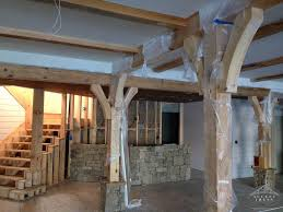 Frame Home by Custom Timber Frame Home Construction Company