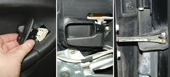 bmw e30 e36 door panel and lock troubleshooting 3 series 1983