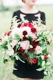 Burgundy Flowers Wedding Wednesday Burgundy Bouquets Flirty Fleurs The Florist