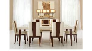 savona ivory 5 pc rectangle dining room contemporary