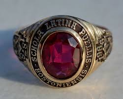 high school class ring value vintage jostens ltm lustrium blue spinel class ring 1983 dilworth