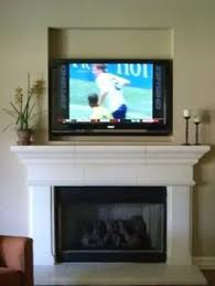 Gas Fireplace Mantle by Diy Ventless Gas Log Fireplace My Husband And I Built For Our