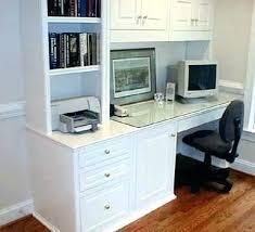 Computer Desk Built In Built In Desk Boromir Info
