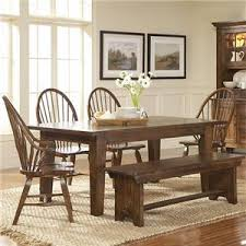 Broyhill Furniture Attic Rustic China Cabinet Baers Furniture - Broyhill dining room set