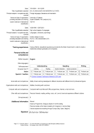 Resume Dates by European Resume For Hospitality And Tourism Administration Job 2