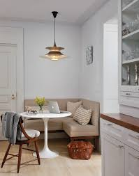 Upholstered Banquettes Wood Banquette Kitchen Transitional With Dark Stained Wood