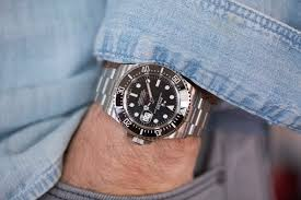 a week on the wrist the rolex sea dweller reference 126600