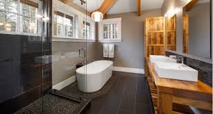 bathroom interiors ideas 21 river rock bathroom designs decorating ideas design trends