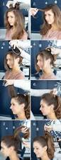 pretty simple effortless high pony high ponytails ponytail