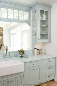 used kitchen cabinets okc kitchen cabinets traditional blue 003 cp500b victorian farm sink