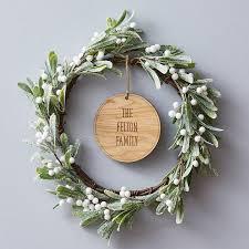 christmas door wreaths notonthehighstreet com
