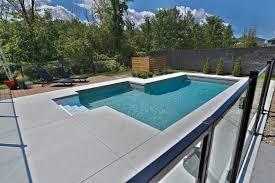 amenagement exterieur piscine piscine trévi fuzion piscines creusées pinterest piscines