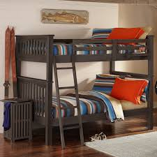 Highlands Harper Twin Over Full Bunk Bed - Full sized bunk beds