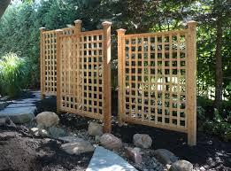 garden trellis fence home outdoor decoration
