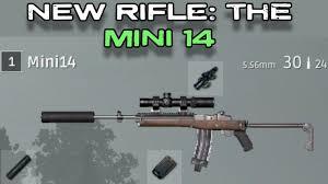 pubg guns pubg new rifle the mini14 all attachments youtube