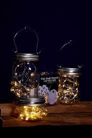 jar lights lights battery op warm white fits a wide