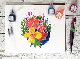Pin By Brea Lesley On - so many pretty watercolor inks to choose from in the brea reese