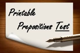 prepositions lessons online with activites examples and exercises
