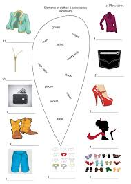 elements of clothes accessories 2 eslflow