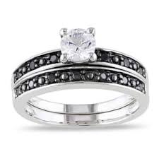 Black Diamond Wedding Ring Sets by Black Bridal Jewelry Sets Shop The Best Wedding Ring Sets Deals