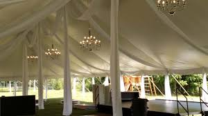 party rentals michigan tent and pole drapery rental michigan knights tent party rental
