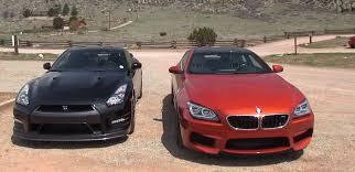 nissan gtr vs clash of the bmw f13 m6 vs 2014 nissan gt r autoevolution