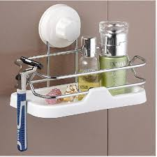 Suction Cup Bathroom Shelf Suction Shower Shelves Shower Caddy With Suction Cup Lowes