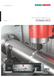 nt6600 dcg dmg mori pdf catalogue technical documentation