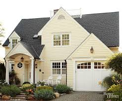 yellow exterior paint exterior color combinations done right garage doors exterior
